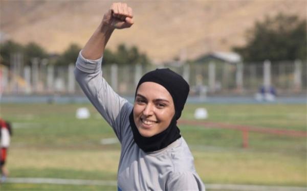 دختر ایرانی نایب قهرمان تورنمنت دوومیدانی اروپایی شد