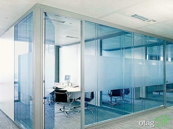 پارتیشن شیشه ای چیست؟ آشنایی کامل با انواع پارتیشن شیشه ای
