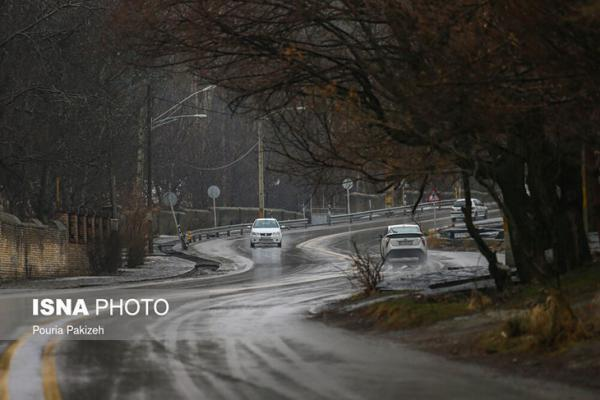 جاده بارانی گنجنامه، تصاویر