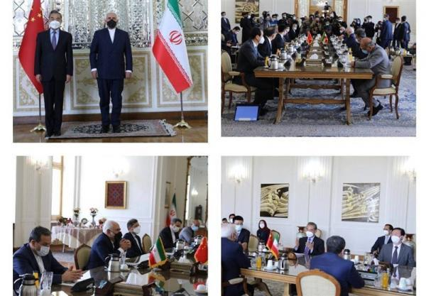 ملاقات وزیر خارجه چین با ظریف