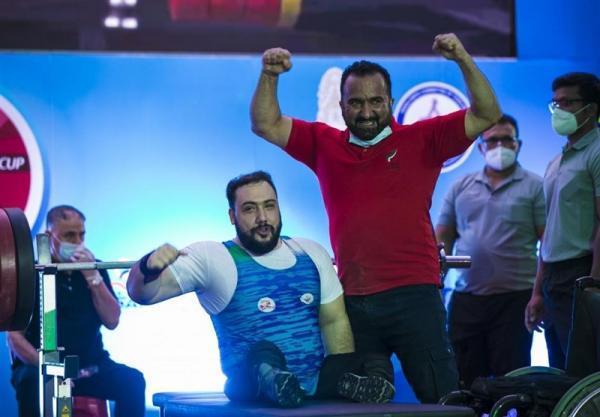 گزارش سایت کمیته بین المللی پارالمپیک از شاهکار روح الله رستمی در جام جهانی پاراوزنه برداری