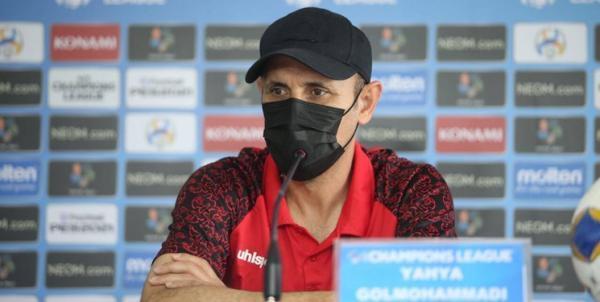 گل محمدی: بازیکنانم پیروز شدند از مسائل سربلند بیرون بیایند، با تمام وجود و با تمام قوا مقابل الریان بازی خواهیم کرد