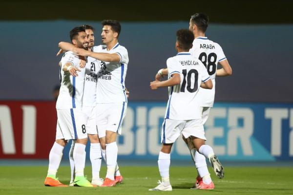 فرشید اسماعیلی موثرترین بازیکن ایرانی لیگ قهرمانان آسیا 2021