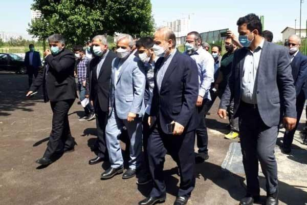 معاون رئیس جمهور از اردوی تیم های ملی کشتی بازدید کرد