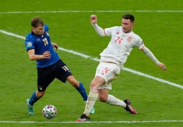 یورو 2020، تساوی ایتالیا و اسپانیا در نیمه نخست