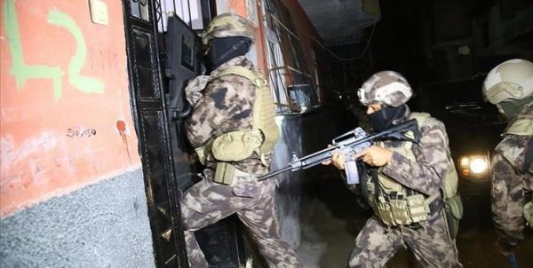 بازداشت 47 نفر در ترکیه به اتهام های امنیتی و تروریستی