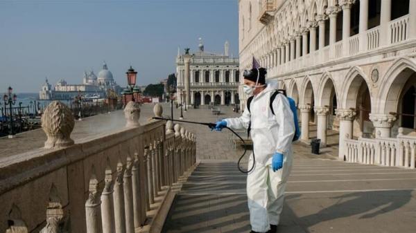 ایتالیایی ها با ماسک خداحافظی می نمایند