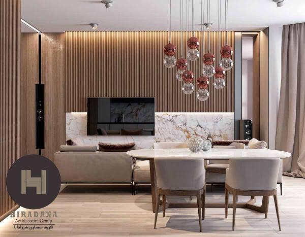دکوراسیون داخلی خانگی استفاده از متریال های چوبی